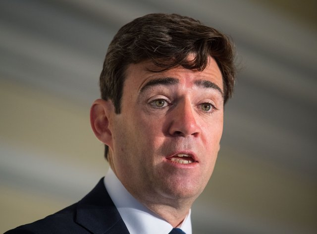 Mayor of Greater Manchester, Andy Burnham