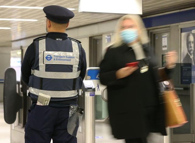 Coronavirus mask enforcement