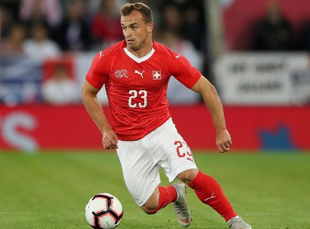 Switzerland international Xherdan Shaqiri will travel to Spain after testing negative for Covid-19