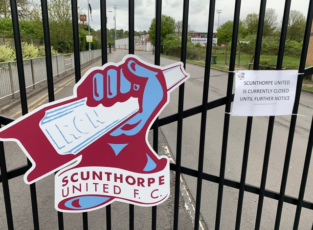 Scunthorpe must again do without Jordan Hallam