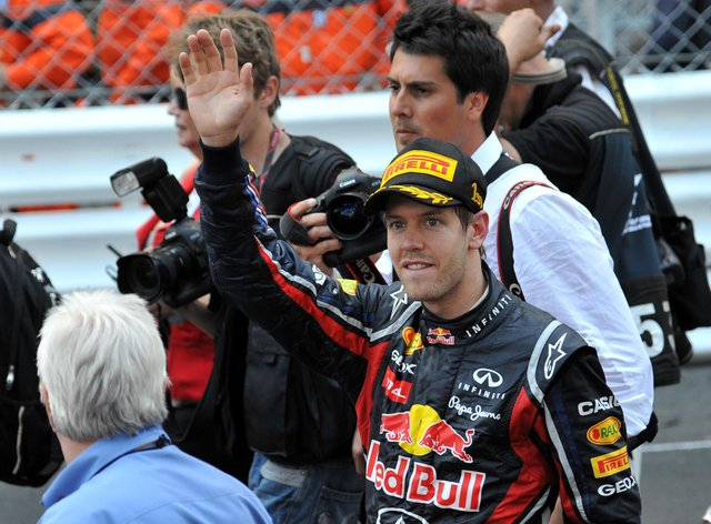 Sebastian Vettel won 11 races during the 2011 season to claim a second drivers' championship with Red Bull