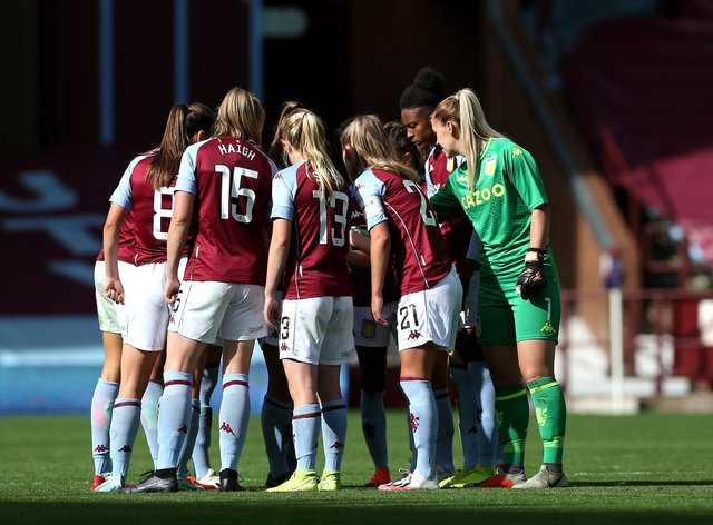 A Villa player has tested positive