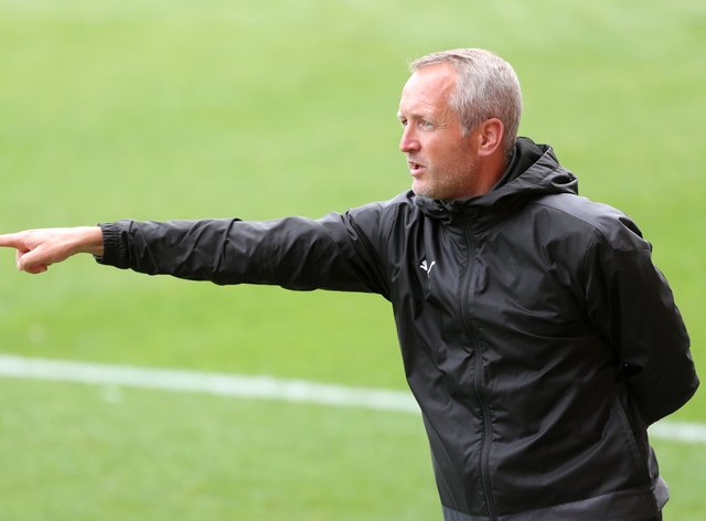 Blackpool boss Neil Critchley could include new signing Daniel Gretarsson in his plans