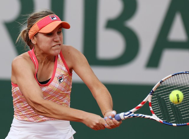 Sofia Kenin powered her way into the French Open final