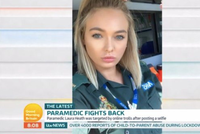 Laura Heath is preparing to skydive to raise money on World Mental Health Day