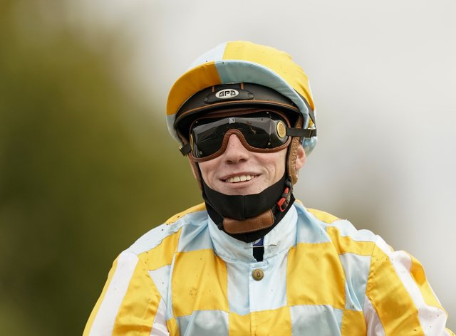 Shane Crosse was a happy man after landing Group One glory at Newmarket