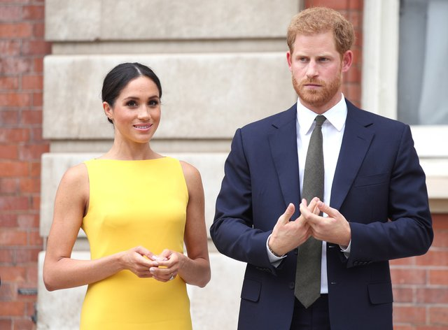The Duke and Duchess of Sussex have appeared on a podcast to mark World Mental Health Day. Yui Mok/PA Wire