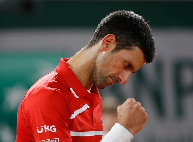 Novak Djokovic is through to his fifth French Open final