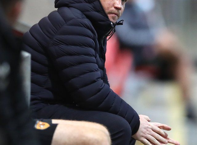 Grant McCann was not impressed with Hull's defending