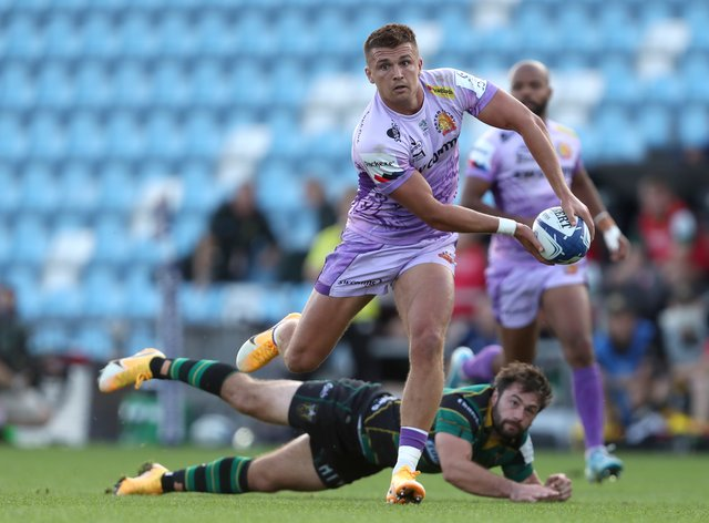 Henry Slade says Exeter are motivated by previous disappointments