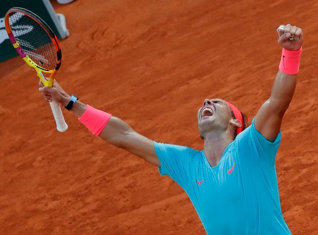 Rafael Nadal will bid for a 13th French Open title on Sunday