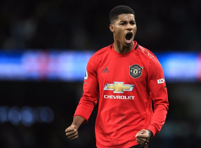 Among the most notable names in the list is footballer Marcus Rashford, who has been made an MBE