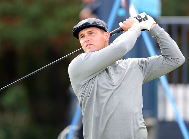 <p>DeChambeau is looking to secure back-to-back majors</p>