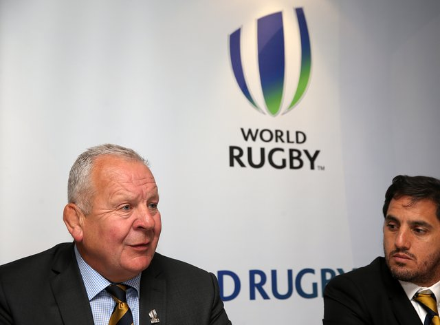 World Rugby head Bill Beaumont (left) admitted it was a tough decision to make