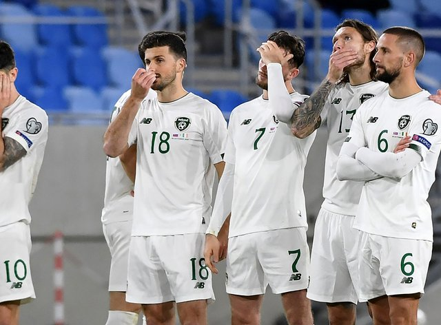 The Republic of Ireland lost 4-2 on penalties to Slovakia in their Euro 2020 play-off semi-final