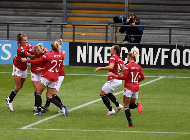 Man United remain unbeaten so far in the WSL this season after four games
