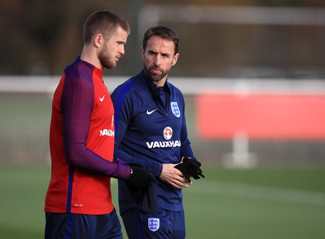 Eric Dier (left) has received strong support from Gareth Southgate in recent years