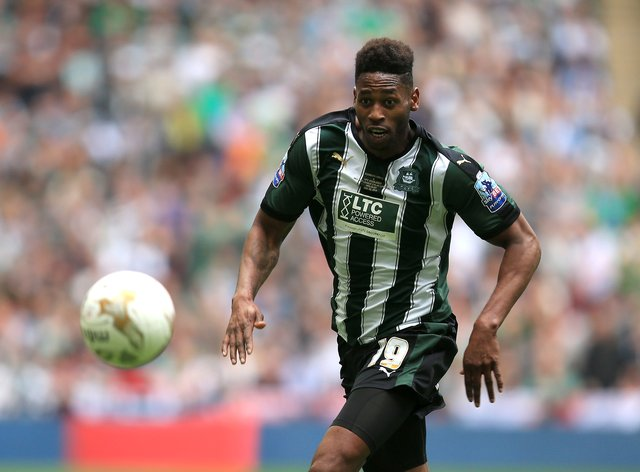 Jamille Matt scored a hat-trick for Forest Green