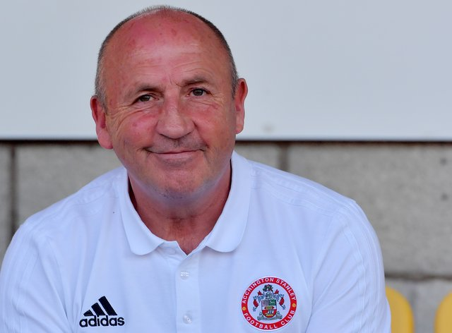 John Coleman was pleased to finally get a home win against Rochdale
