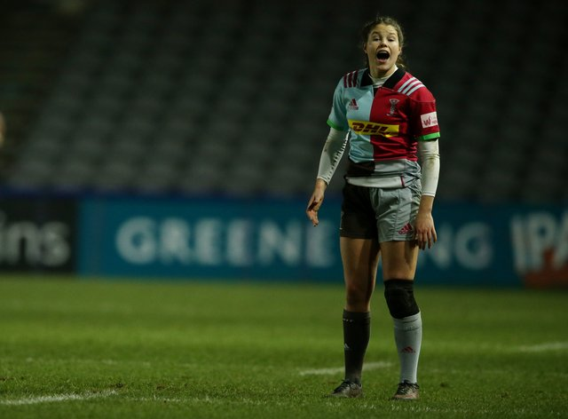 Jess Breach scored two tries in today's fixture