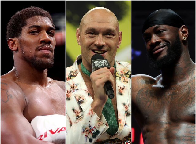 Joshua and Fury are nearing a showdown amid doubts over Wilder