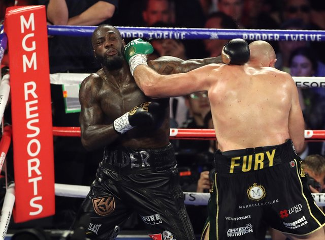 <p>Fury has dismissed the possibility of a trilogy fight with Wilder</p>