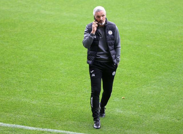 Jim Goodwin's St Mirren top their Betfred Cup group with five points
