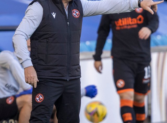 Dundee United manager Micky Mellon was not happy with his players on Saturday