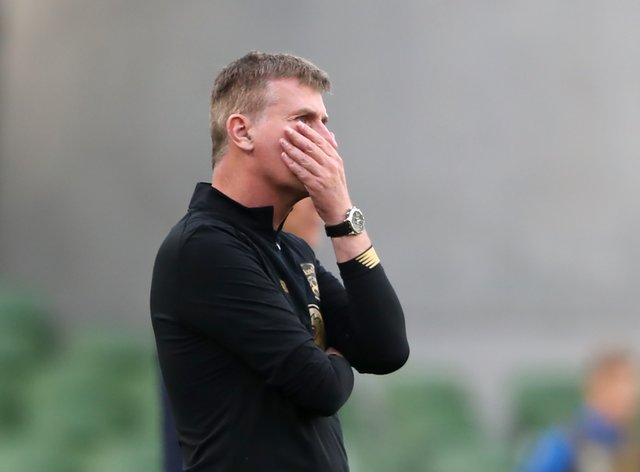 Stephen Kenny's side have been forced to stand down five players