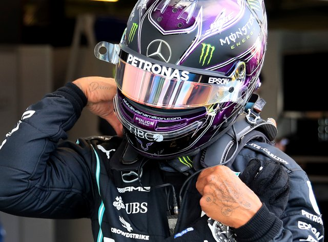 Lewis Hamilton has equalled Michael Schumacher's record