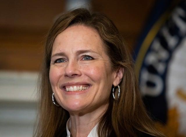 Supreme Court nominee Judge Amy Coney Barrett (Graeme Jennings/AP)