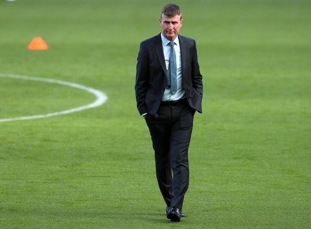 Republic of Ireland manager Stephen Kenny saw his squad decimated before their Nations League draw with Wales
