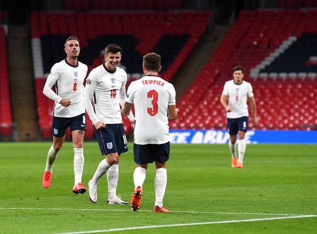 Mount has put England in front at Wembley