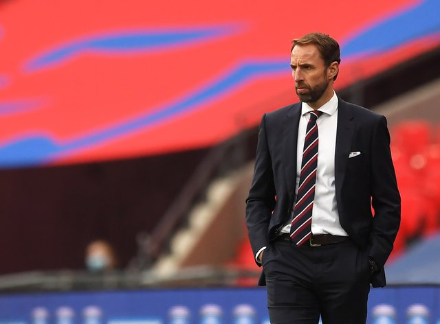 England manager Gareth Southgate was impressed with his young side