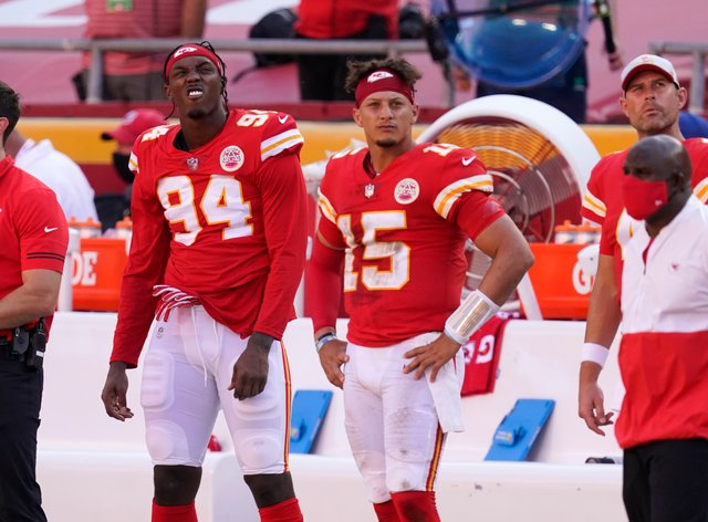 The Kansas City Chiefs suffered their first defeat of the season at the hands of the Las Vegas Raiders