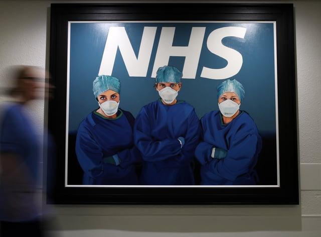 NHS painting
