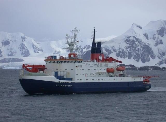 Research ship Polarstern