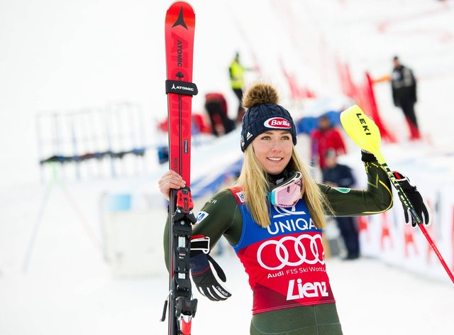 Mikaela Shiffrin: 'Luckily, this injury will heal I will be back in the start soon'