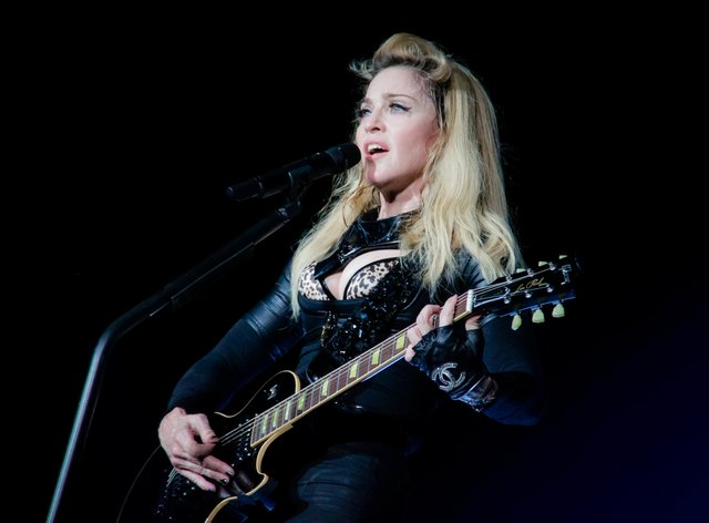 Madonna told Americans to go out and vote in the upcoming US election