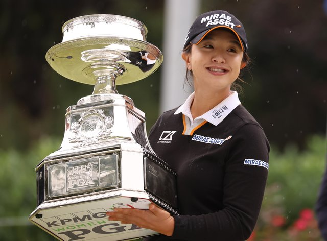 Sei Young Kim has won her first major title