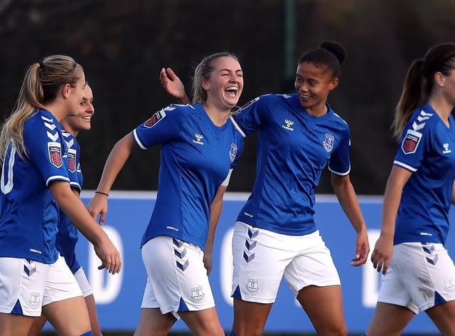 Everton have won all four Women's Super League games so far this season