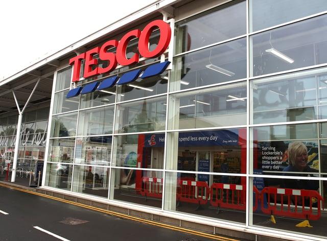 The Tesco store in Lockerbie