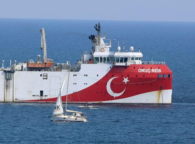 Turkey's research vessel, Oruc Reis