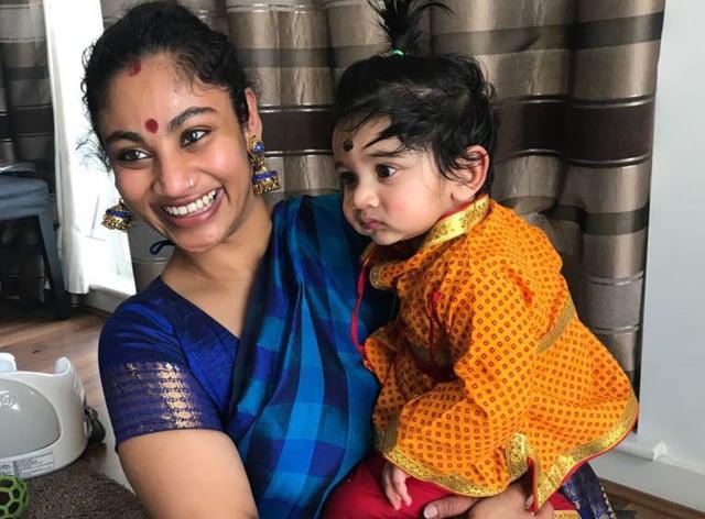 Poorna Kaameshwari Sivaraj and her son Kailash Kuha Raj