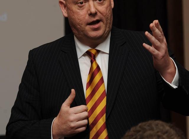 David Baldwin has left his position as chief executive of the EFL