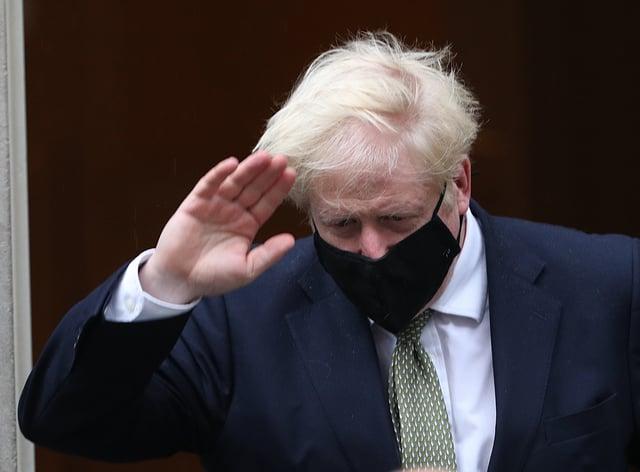 Prime Minister Boris Johnson (Yui Mok/PA)