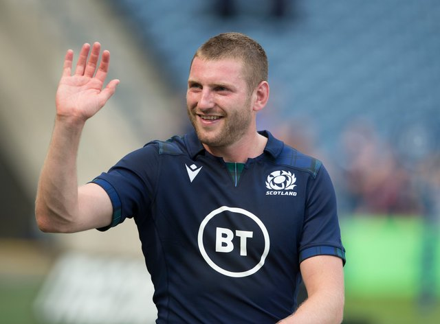 Finn Russell is back in the Scotland fold