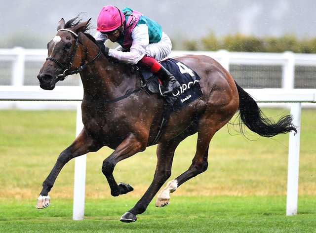 Enable, who retirement was announced on Monday