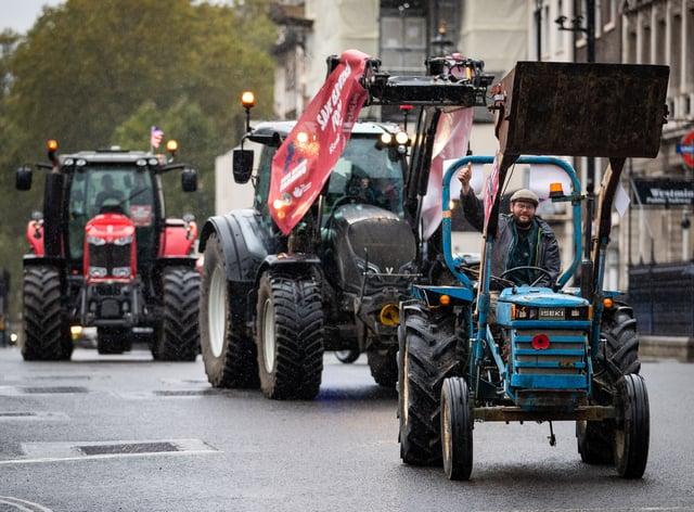 Save British Farming protest