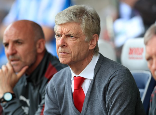 Arsene Wenger stepped down as Arsenal manager in 2018
